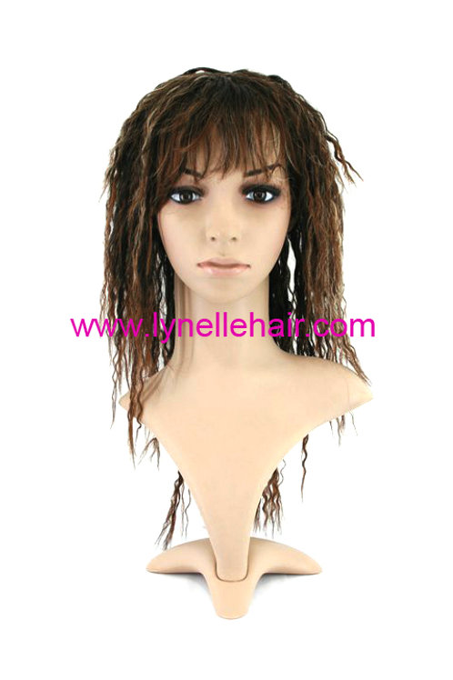 Synthetic Bra Length Curly Wigs C1216L-2T30H23