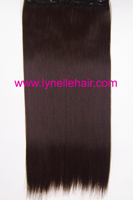 One Piece Synthetic Hair Extensions F1177