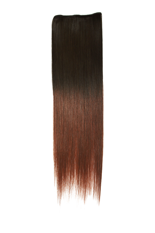 22 Inches 2-clip, Ombre Colors