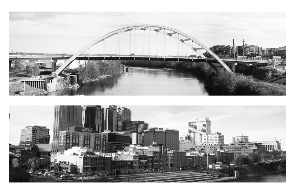 nashville bridge waterfront BW.png