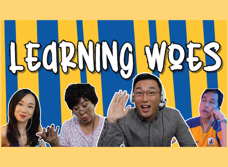 Watch us on Learning Woes & stand a chance to win a SGD 200 Fry Bistro family meal voucher!