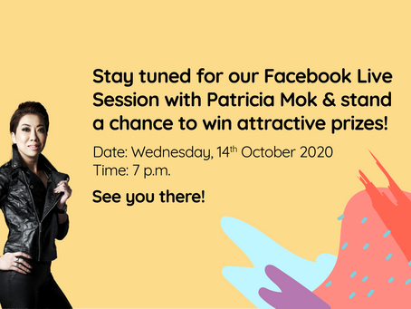 Our Facebook Live Session with Patricia Mok