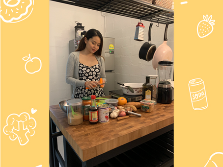 Ms Sophia Rozle shares with us her love for teaching & cooking!