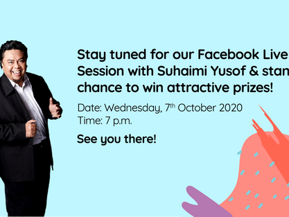 Our Facebook Live Session with Suhaimi Yusof