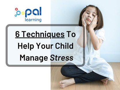6 Techniques To Help Your Child Manage Stress