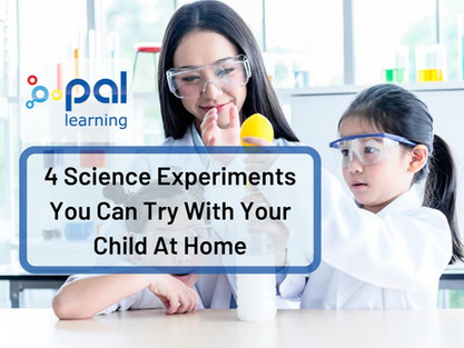 4 Science Experiments You Can Try With Your Child At Home
