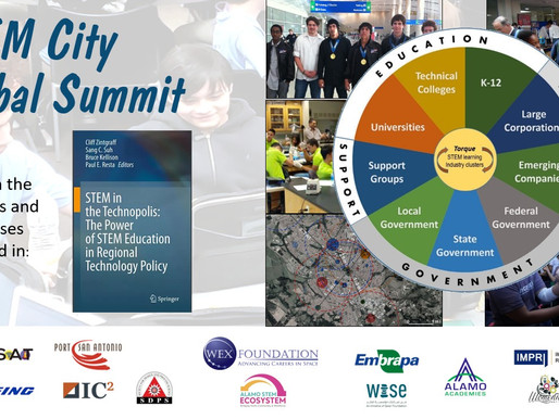 STEM City Global Summit Hosted by SAMSAT 9/29, Register Now!