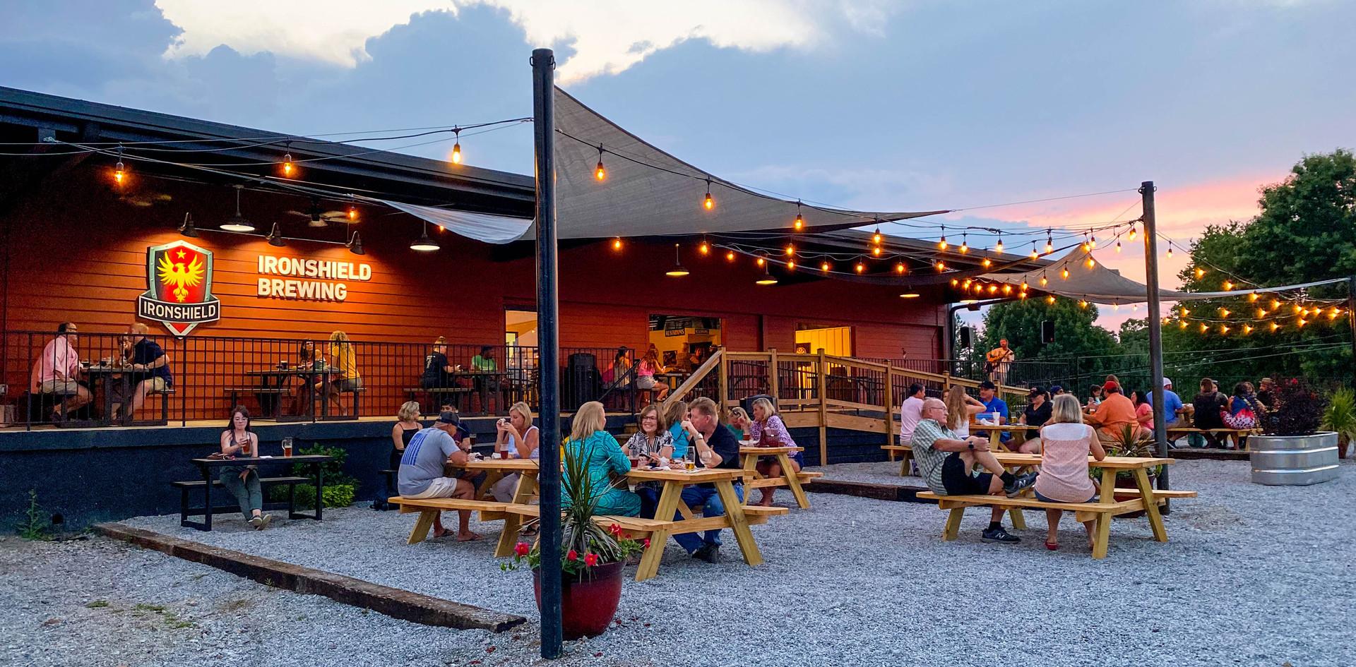 Evening in the Beer Garden