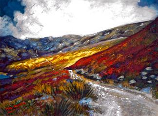 Road to Glen Turret