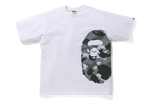 Side Ape Color Camo Grey Relaxed Fit