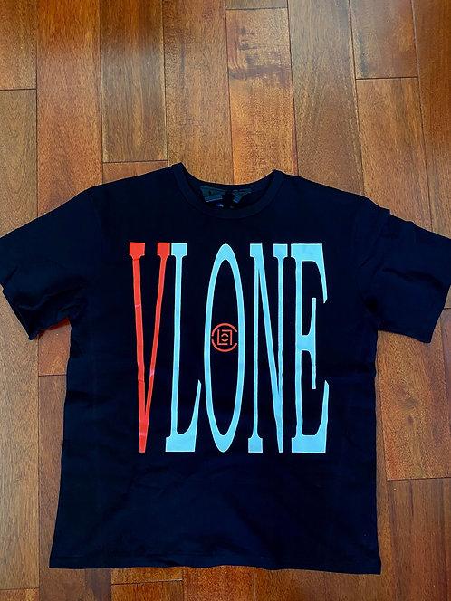 VLone x Clot T-shirt Black