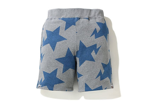 Sta Pattern Shorts Grey