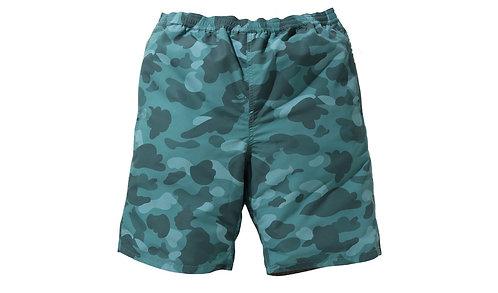 Bape Color Camo Reversible Shorts Green
