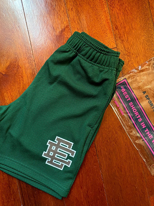 Eric Emanuel Forest Green Shorts