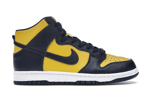 Nike Dunk Hi 'Michigan'