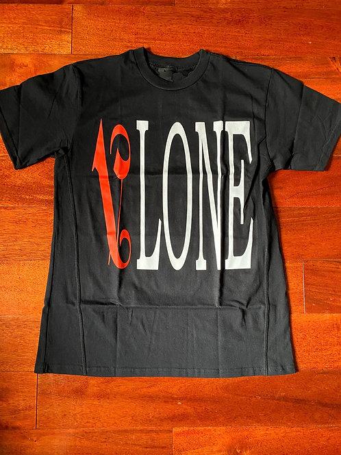 Vlone x Palm Angels Black/Red T-shirt
