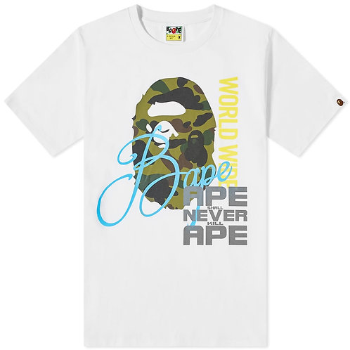 Bape Overprint White t-shirt