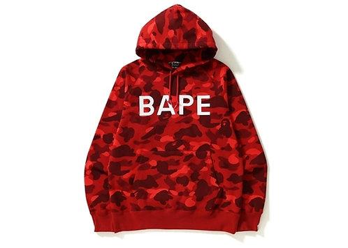 Bape Color Camo Pullover Red