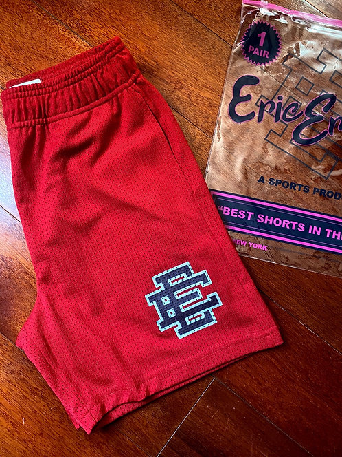 Eric Emanuel Shorts Red