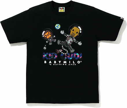 Bape x KID CUDI Moonman T-shirt
