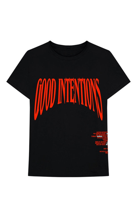 Vlone x Nav Good Intentions Black/Red
