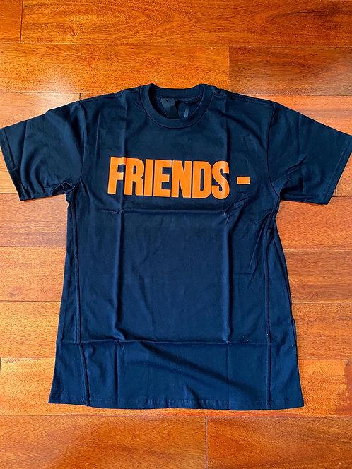 Friends Vlone Black/Orange