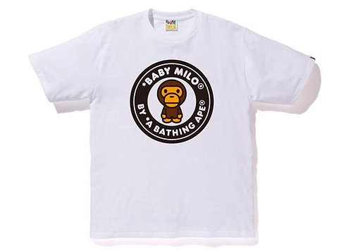Baby Milo Busy Works T-shirt White