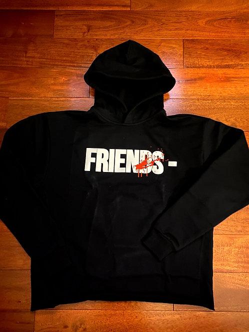 Vlone Friends 'Splatter' Hoodie Black