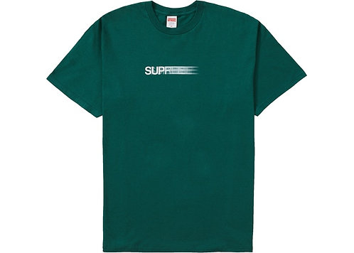 Supreme Motion Logo T-shirt Green