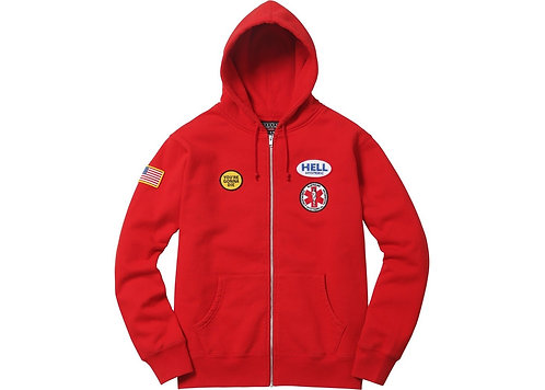 Hysteric Glamour Zip-Up Hoodie Res