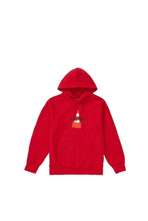 Supreme Cone Hoodie Red
