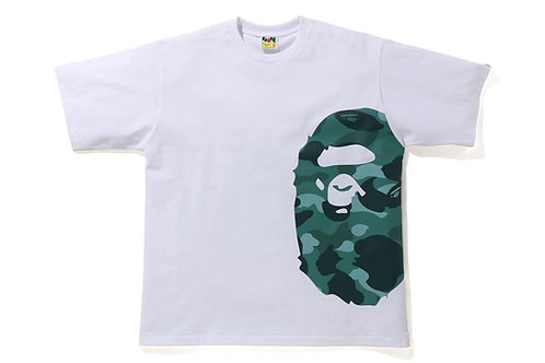 Side Ape Color Camo Teal Relaxed Fit