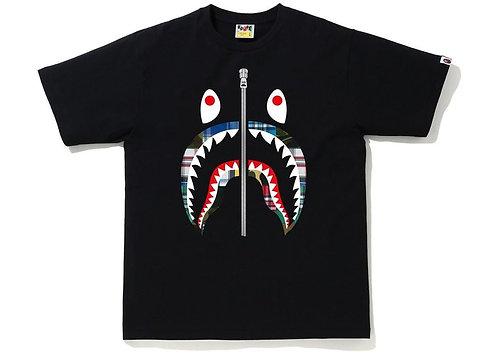 Bape Patchwork Shark T-Shirt Black