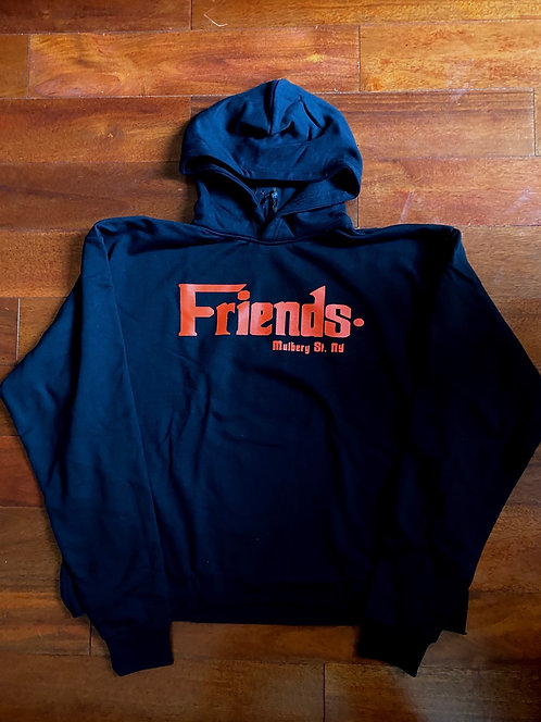 Vlone Friends ' Mulbery ST.' Red