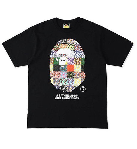 Bape Ape Head 28th Anniversary Black