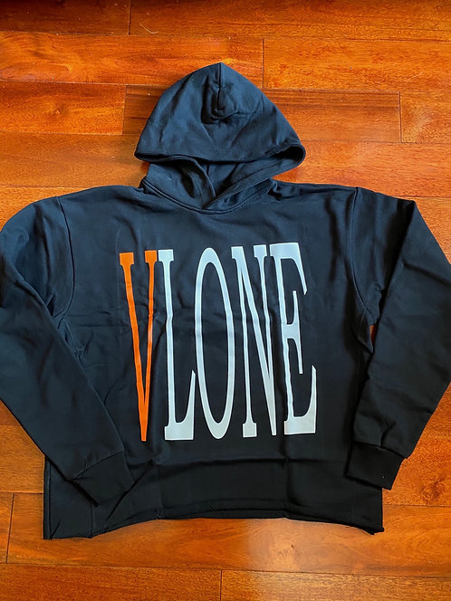 Staple Vlone Hoodie Black/Orange