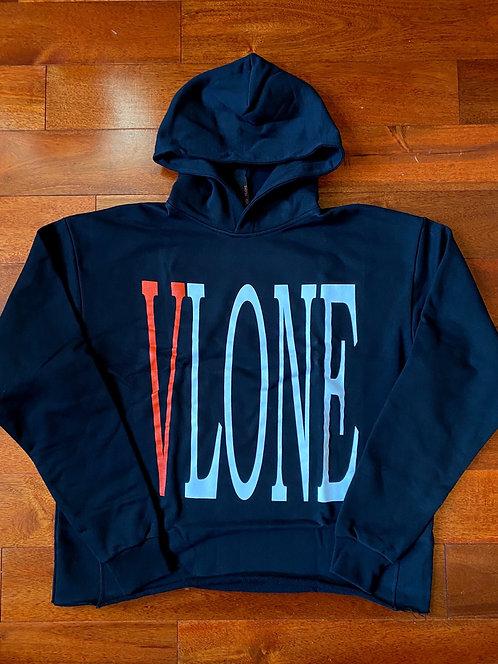 Vlone Staple Hoodie Black/Red