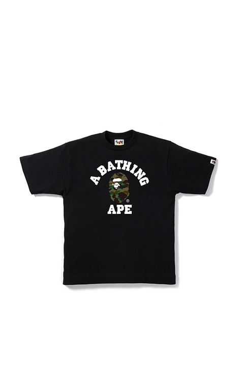 College Bape T-Shirt Black