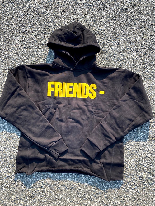 Vlone 'Friends' Hoodie Blk/Yellow