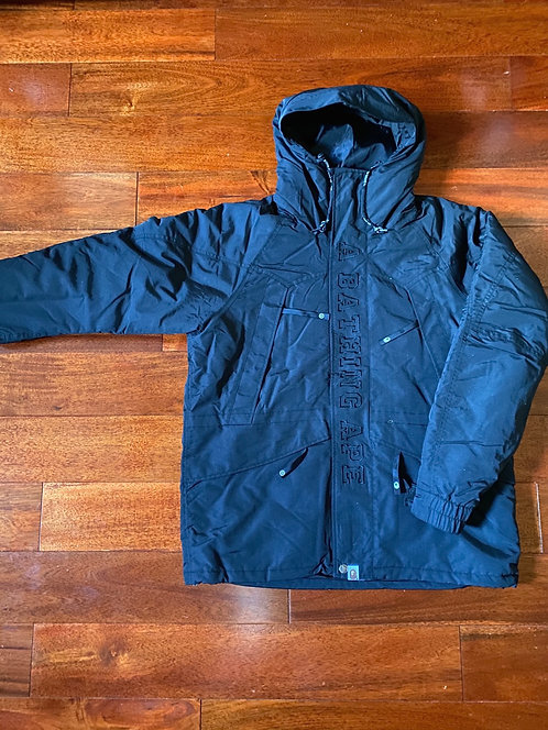 Bape Snowboard Jacket Black