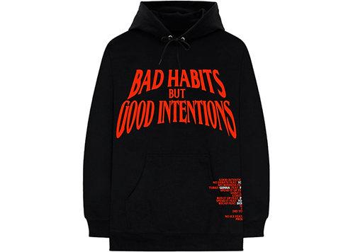 Vlone x Nav 'Bad Habits / Good Intentions' Black