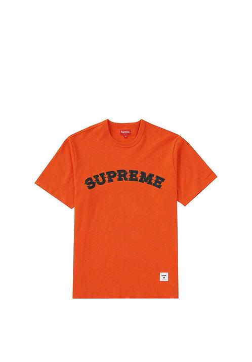 Supreme Plaid Appliqué Shirt Orange