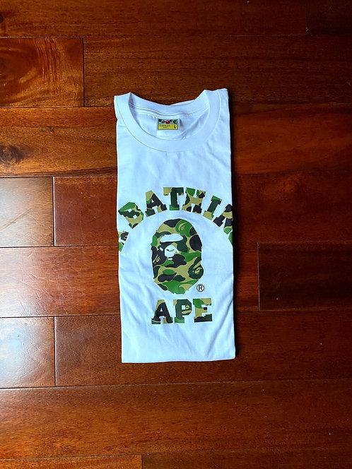 1st Camo College Bape Tshirt