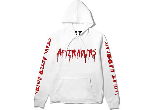 Vlone 'After Hours' Hoodie White