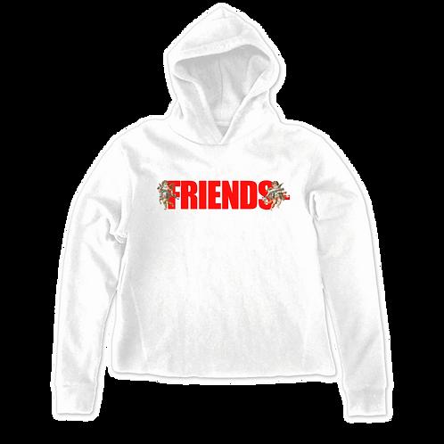 VLone Friends 'Angels' Hoodie White