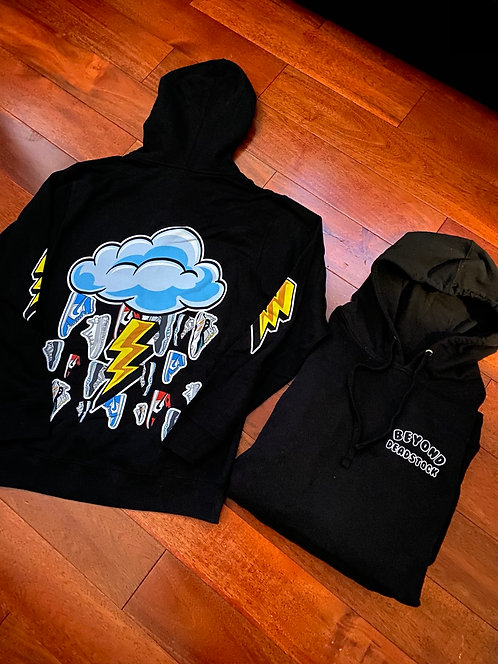 Beyond Deadstock 'Cloud' Hoodie Black