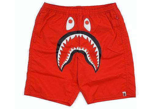 Shark Beach Shorts Red