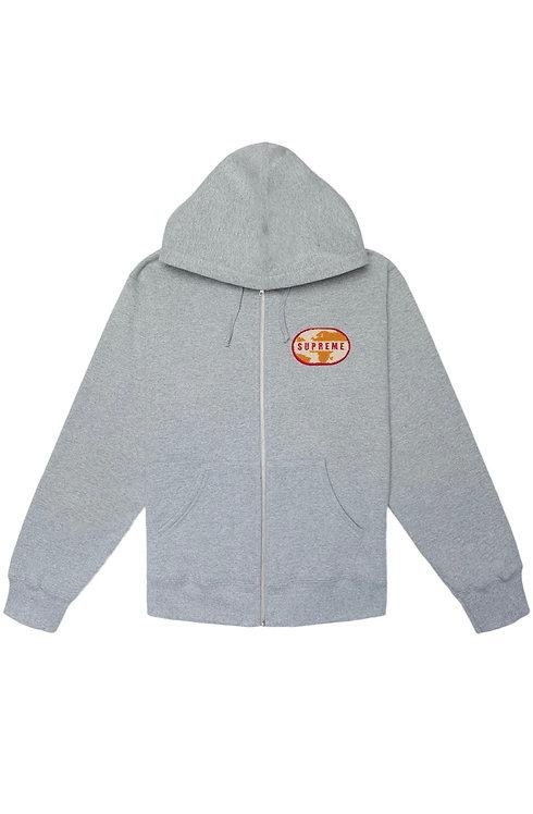World Famous Zip Up Grey