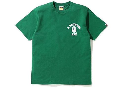 Bape Silicon College T-shirt Green