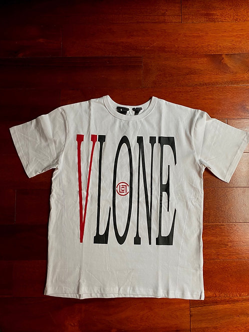 Vlone x Clot T-shirt White